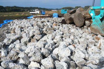 ②ブロックの廃材を再利用。強化型4t用で使用。