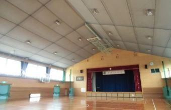 篠崎中学校体育館