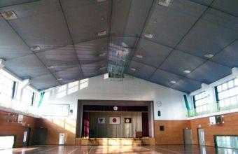 皿垣小学校体育館