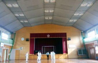 柳河小学校体育館
