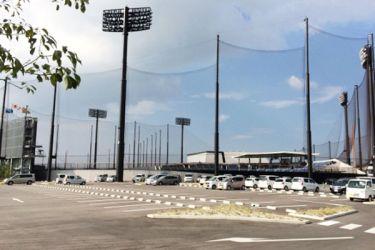タマホーム スタジアム防球ネット
