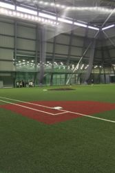 室内練習場防球ネット